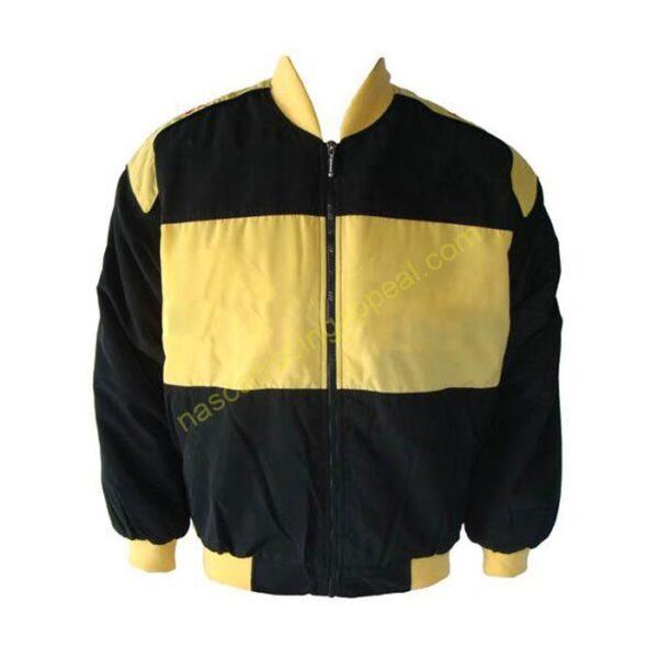 Lamborghini Racing Jacket Black and Yellow