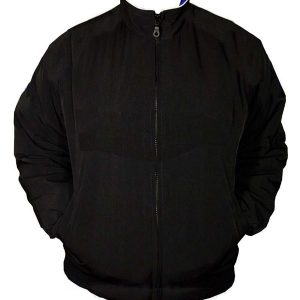 Plain Jacket Black with red Piping