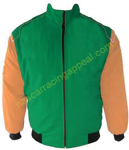 Plain Jacket Hunter Green and Tan