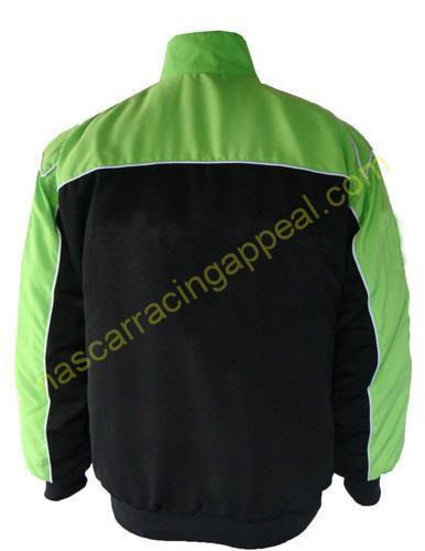 Plain Jacket Light Green and Black
