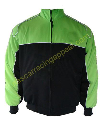 Plain Jacket Light Green and Black