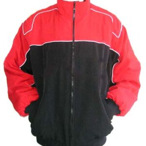 Plain Jacket Red and Black Jacket
