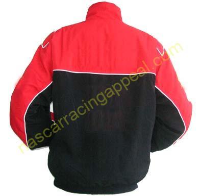 Plain Jacket Red and Black Jacket