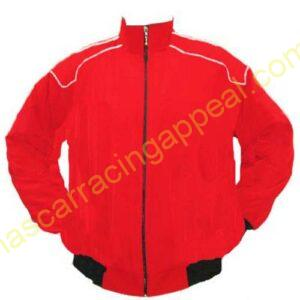 26 Jacket Red With Piping