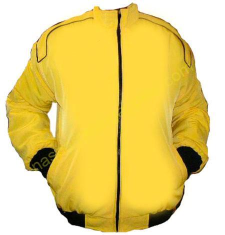 Plain Blank Jacket Yellow